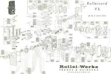 Exploded Views of ROLLEICORD and ROLLEIFLEX Cameras (Electronic File)