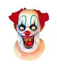 Rico le Clown Tête Complète & cou Effrayant Halloween Masque par productions fantôme