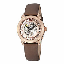 Stuhrling 156 124T14 Women's Lady Winchester Automatic Skeleton Satin Watch