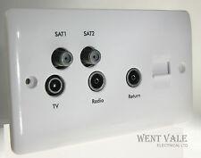 LEGRAND sinergia 7300 45 2 banda TV / FM / 2XSAT Triplexer / TV ret / sec T / TELEFONO SKT NUOVO