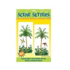 Pack of 2 Palm Tree Scene Setters Wall Decorations - Artificial Palm Tree Party