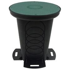 Storm Drain FSD-3017-12SKIT Catch Basin Round 12-inch Kit With Lid