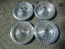 1970 to 1976 Plymouth Barracuda Charger Volare 14 inch hubcaps wheel covers