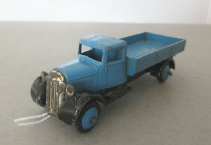 Dinky Toys Type 4 Fordson Covered Wagon - 1940's Dinky Toys Commercial (Blue)