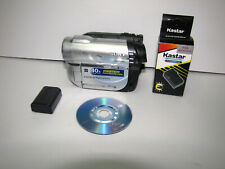 Sony Dcr-Dvd610 Dvd Handycam Camcorder With Accessories Working !