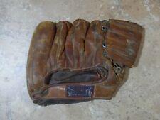 VTG Antique Spalding Leather Baseball Glove