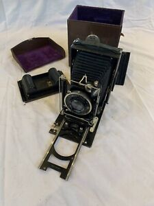 Antique Zeiss Ikon Ideal 250/7 Folding Camera