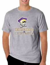 Baseball Dorados de Chihuahua T-Shirt for Men's Color Gray 100% Cotton