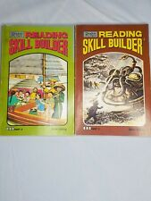 Lot 2 Reader's Digest Reading Skill Builder books Silver Edition, 1977 Part 3, 4