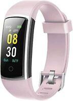 Montre Connectée Femmes Homme Bracelet Connecté Tensiomètre Smartwatch Vibrante