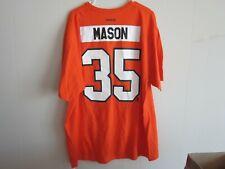 Steve Mason Philadelphia Flyers Reebok Nhl Orange Name & Number T-Shirt Size 2Xl