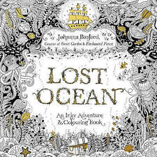 Lost Ocean Colouring book by Johanna Basford BRAND NEW BOOK (Paperback, 2015)