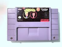 Beavis and Butt-head SUPER NINTENDO SNES GAME Tested + Working & Authentic!