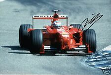 "Mika Salo Formula One F1 Driver Hand Signed Photo Ferrari 12X8"" Ab"