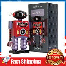 Tin Wind Up Vintage Robot Toy, Metal Windup Walking,Toys Gift for Kids Boys