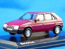 1/43 SKODA  FAVORIT 136L, 1988, Rot-Apollo, Re-Edition