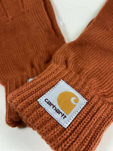 Carhartt Watch Gloves Cinnamon Color Size Medium Large - New with Tags