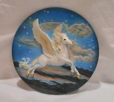 Medieval Legends Pegasus 3D Plate ~Beautiful~