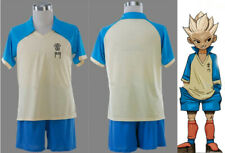 Anime Inazuma Eleven Shuya Goenji Cosplay Costume Football Uniform Summer