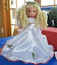 Christmas: PRECIOUS MOMENTS ANGEL PERSONALIZABLE SASH TREE TOPPER!~   NEW