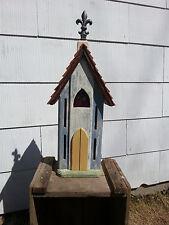 Cedar Handcrafted Butterfly House Rustic Primitive Folk Art Country Decor
