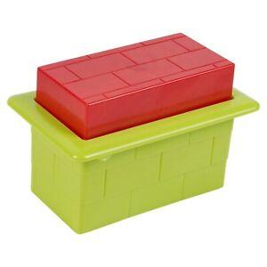 Kids Plastic Beach Sand Brick Mould Sandbox Castle Build Summer Outdoor Play Toy