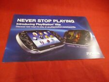 PSVita Playstation Vita Console System Best Buy Wal-Mart Target Promo Mailer
