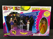 NEW SPICE GIRLS Super Stage + Figurine Girl Band Figure 1998 Toymax Spicegirls
