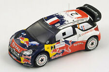 SPARK Citroen DS3 WRC #2 Winner Rally France 2011 Ogier - Ingrassia S3324 1/43