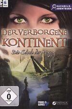 PC SPIEL CD ROM / DER VERBORGENE KONTINENT - DIE SÄULE DER MAYA / NEU & OVP