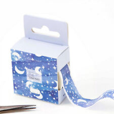 1 * Blue Moon Star Washi Tapes Stationery Stickers Scrapbooking Decoration Hot