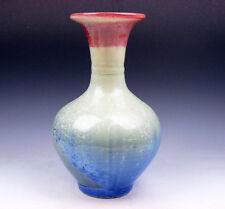 8.75 Inches Chinese Crystalline Glazed Porcelain Vase #06061705