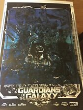 Guardians of the Galaxy Alexander Iaccarino Rare Signed Test Poster Print 1/1 *