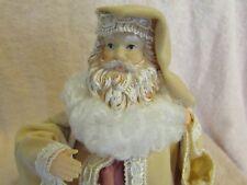 Vintage Robed Santa Claus Tree Topper Father Xmas