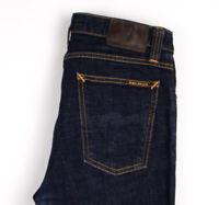 Nudie Jean Hommes Haut Kai Extensible Slim Jean Taille W29 L32 AOZ1156