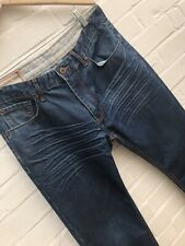 "Mens Joe Brown Jeans Size 32 Short L30"" Blue Straight Joe Leg Zip Fly"