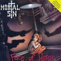 Mortal Sin - Face of Despair (CD 2009) Thrash Metal Riot Entertainment repress