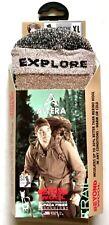 "ALTERA ""EXPLORE"" 1-PR 63% ALPACA+1% SILVER CREW SOCKS T.BROWN SZ XL(12-14 SHOE)"