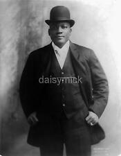 """World Heavyweight Boxing Champion Jack Johnson 1909 Boxing 7x5"""" Photo Reprint"""