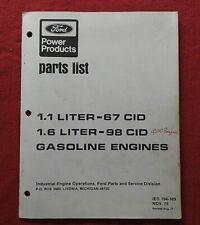 Gehl Hl 4500 Skid Steer Loader 11 16 Litre Ford Engines Parts Catalog Manual