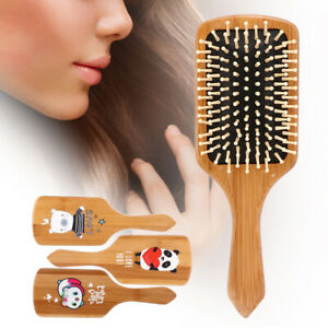Professional Massage Wooden Comb Bamboo Hair Brush Brushes Hair Massager Comb