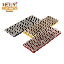 DIY Crafts®3xDiamond Hone Whetstone Sharp Sharpener Diamond block Kitchen Knifee