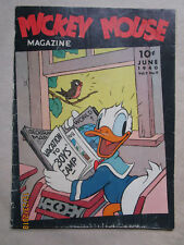 MICKEY MOUSE MAGAZINE - VOL 5 # 9 - JUNE 1940 ISSUE