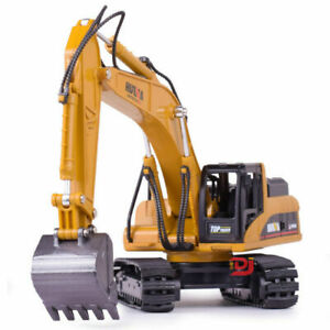 1:50  Excavator Alloy Toys Diecast Engineering Vehicle Model For Kids Gifts