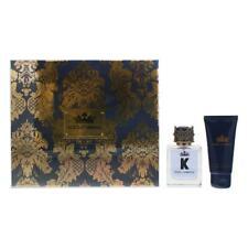 Dolce & Gabbana K Eau de Toilette 50ml & After Shave Balm 50ml Gift Set For Him