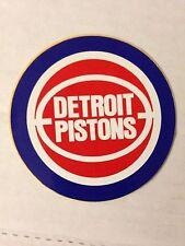 STICKER VINTAGE BASKETBALL DETROIT PISTONS / PROMO OSCAR MAYER 1989