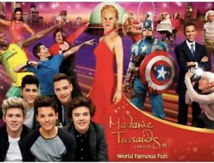 2 x Madame Tussauds LondonTickets Any Date In School Holiday 2021 Great Offer!