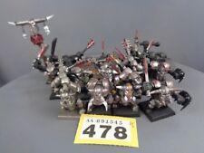 WARHAMMER AGE OF Sigmar orruks Orchi Goblins ironjawz Nero ardboys 478