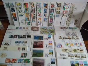 First Day Covers GB 1980's Job Lot of 30. (18)