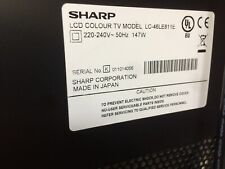 "SHARP LCD 48"" TV"